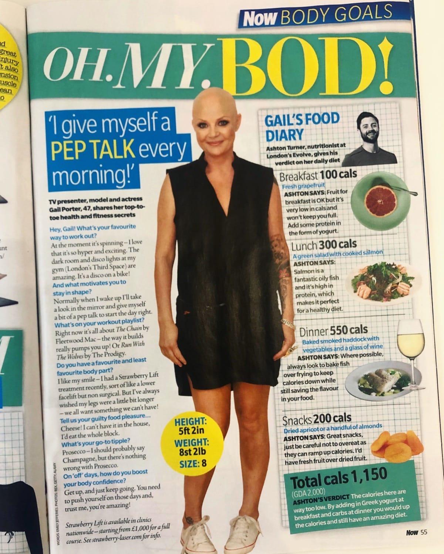 Now Magazine - Gail Porter