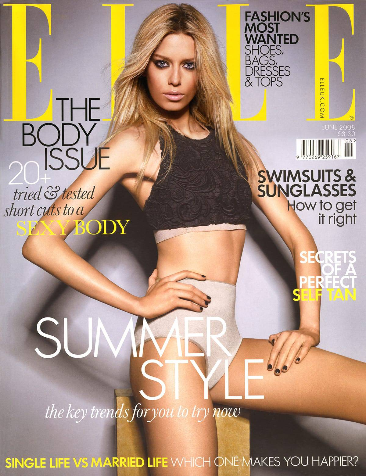 Elle Mag Cover