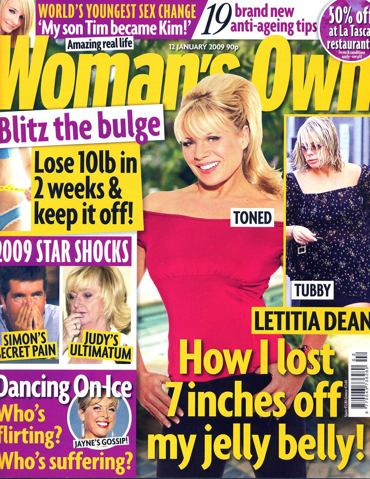 Womans own cover