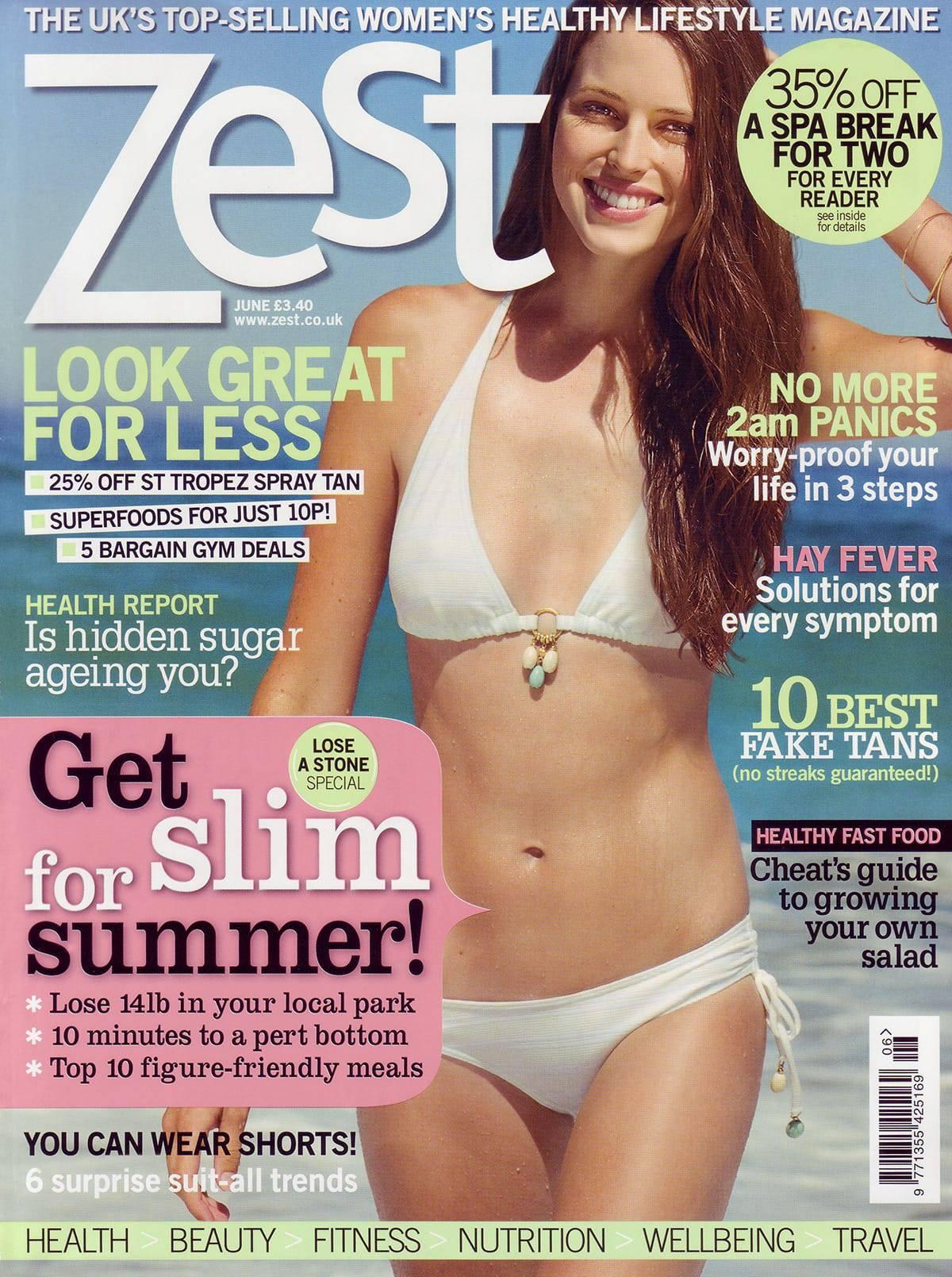 ZEST June 09 cover